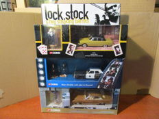 Corgi - Schaal 1/43-1/36 - Lock, Stock & 2 smoking Barrels, Kojak and the Blues Brothers