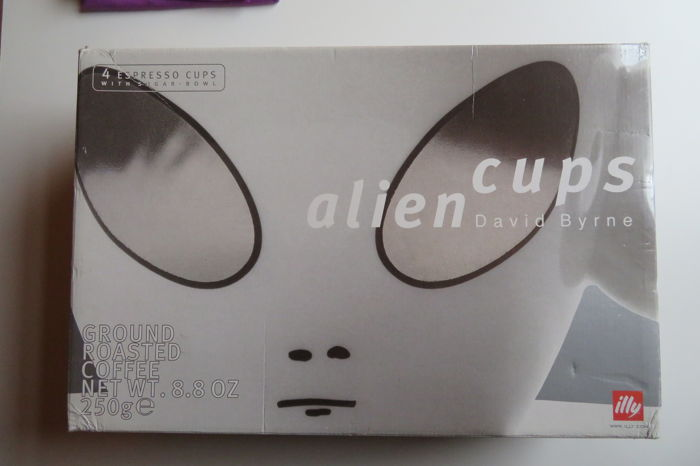 Illy Artist Collection - David Byrne - Alien Cups - 2001