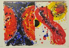 Sam Francis  (1923-1994) - One Cent Life