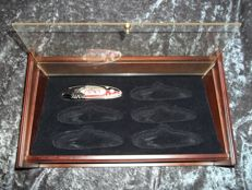 Franklin Mint Collectors Knife - Harley Davidson©, Sportster© plus display case for 6 Harley Davidson knives - Very good condition