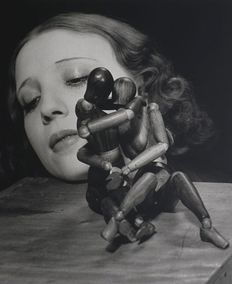 Man Ray (1890-1976) - Lydia with Mannequins, 1932