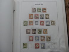 German Reich 1872/1944 - Extensive collection in Davo album with a lot of better material, including back of the book.