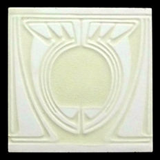 Peter Behrens for Villeroy & Boch - Art Nouveau Tile