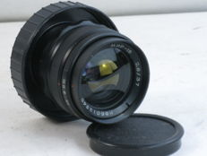 MIR-1B 37mm/f=2.8 lens, with M42 screw mount,, made in USSR, ca. 1986