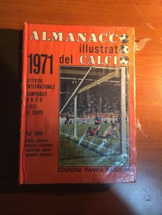 Panini - Almanacco illustrato del calcio 1971 - with original package