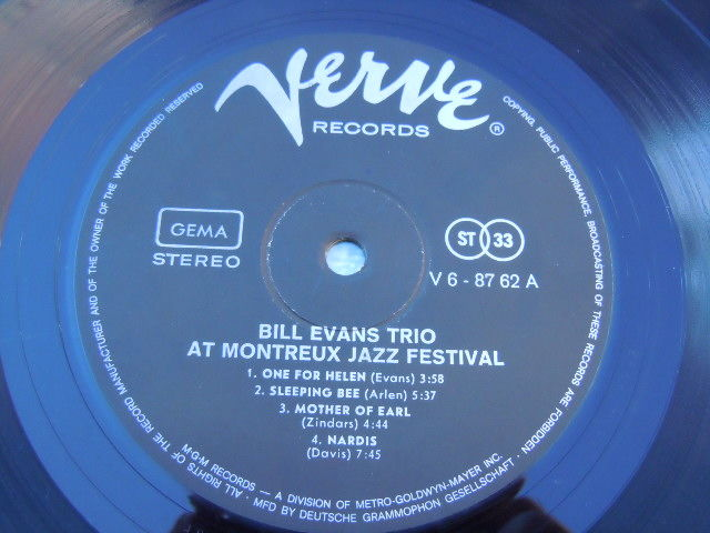 Bill Evans, solo, with his trio and with several other