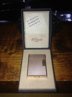 Gold plated (20 microns) Dupont lighter