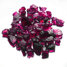 Natural Purple Garnet Rhodolite - 150.1 ct