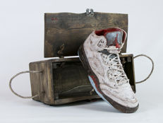 Gianmarco Antoci - Wooden Sneakers Sculpture Air Jordan 5