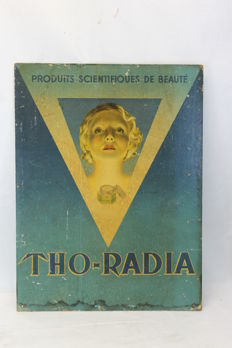 THO-RADIA - advertising sign - art deco period