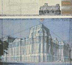 Christo - Wrapped Reichstag IV