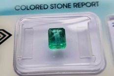 Emerald  - 1.43 ct - No Reserve