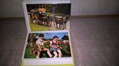 Lot of 800 numerous postcards of Germany, all collected in albums