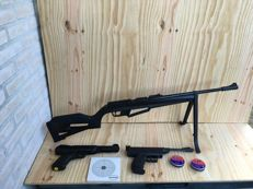 Lot of 3 air guns - 4.5mm