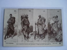 Lot of 61 Military postcards much WW1 with better cards too