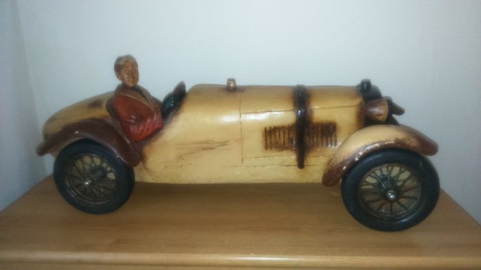 large wooden model of 1928 sports car catawiki