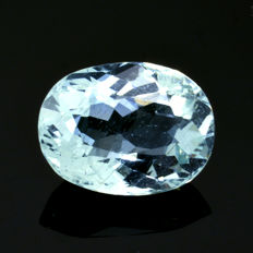 Aquamarine - 3.46 ct – No reserve price