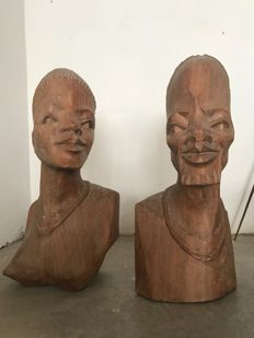 Wood heads, Only one size