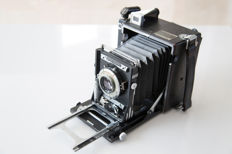 "An Original Graflex Speed Graphic ""mini"" 6x9 with many extras!"