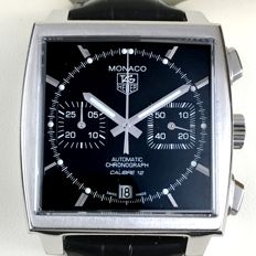 Tag Heuer Monaco Bi-Compax Chronograph Ref. CAW2110 - Men´s Watch