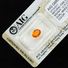 Mexican Fire Opal – 0.75 ct, No Reserve Price