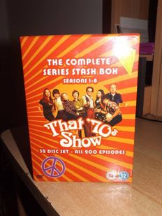 The complete series stash box That' 70 s show 32 disc set all 200 episodes