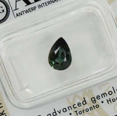 Bi-colour sapphire – 1.54 ct, fine colour quality, no reserve price