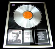 """David Bowie """"Changes one Bowie"""" platinum record award"""