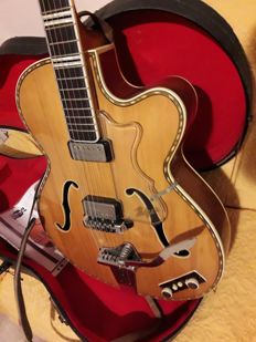 HOFNER ARCHTOP - 1960s –  MADE IN GERMANY
