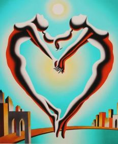 Mark Kostabi - Solar embrace
