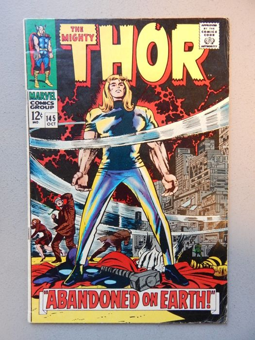 Marvel Comics - The Mighty Thor #145 - 1x sc - (1967)