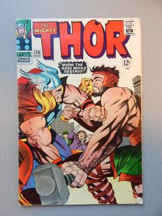 Marvel Comics - The Mighty Thor #126 - with 1st app of Seidring the Merciless - 1x sc - (1966)