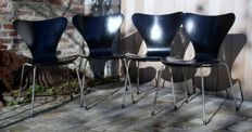 Arne Jacobsen for Fritz Hansen - Butterfly Chairs (4x)