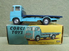Corgi Toys - Scale 1/48 - E.R.F Model 44G Platform Lorry No.457
