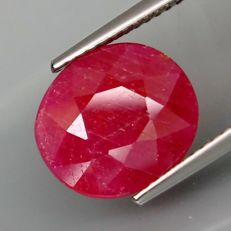 Ruby – 5.76 ct. - No Reserve Price