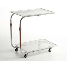 "Köll - vintage serving trolley, model ""ADAP-TABLE"""