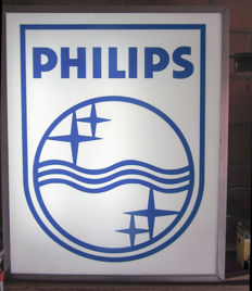 Philips logo light box - second half of the 20th century.