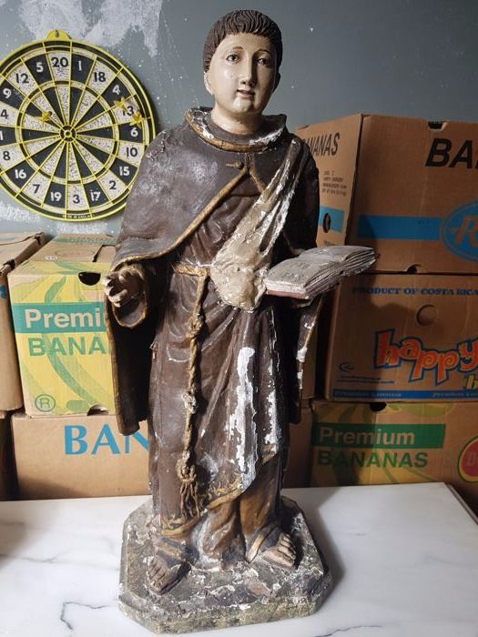 Saint Anthony in carved wood - between the 18th and 19th centuries