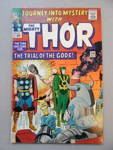 Marvel Comics - Journey into Mystery with the Mighty Thor #116 - 1x sc - (1965)