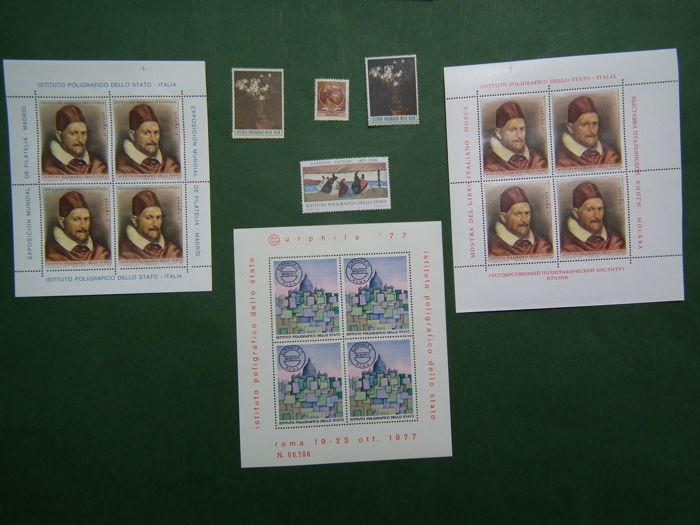 Italy, Republic, 1963/1974 – Selection of Poligrafico dello Stato proof stamps
