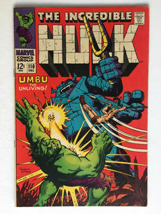 Marvel Comics - The Incredible Hulk #110 - 1x sc - (1968)