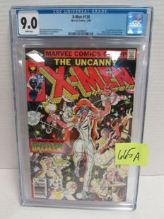 Uncanny X-Men #130 - Marvel Comics - 1st Appearance of Dazzler - CGC 9.0 - (1980)