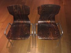 Eromes Wijchen – 4 industrial OBO chairs