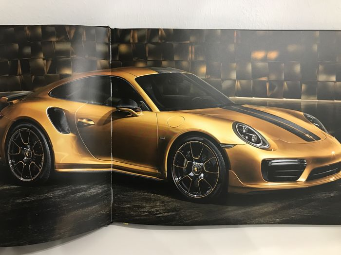 Porsche 911 Turbo S Exclusive Series Owners Book Officially