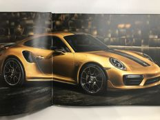 Porsche 911 TURBO S Exclusive series Owner's Book - Officially released by Porsche