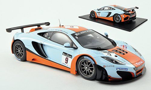 True Scale Miniatures - Scale 1/18 - McLaren MP4-12C GT3 #9 Total 24 Hours of Spa 2012