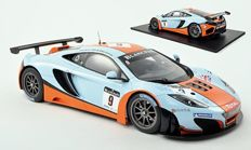 True Scale Miniatures - Schaal 1/18 - McLaren MP4-12C GT3 #9 Total 24 Hours of Spa 2012