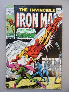Marvel Comics - The Invincible Iron Man #10 -  1x sc - (1969)