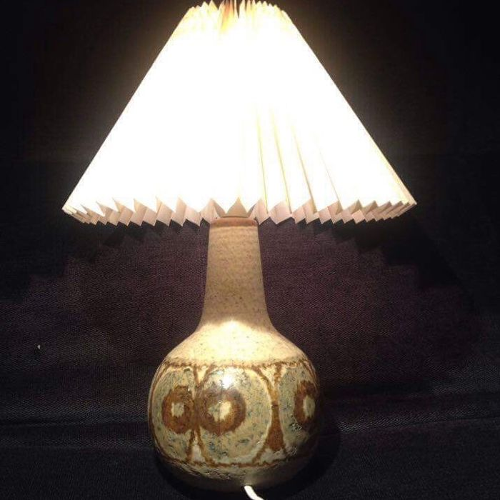 "SØHOLM - Stoneware Table Lamp - No. 3068 ""AS"""