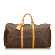 Louis Vuitton - Monogram Keepall 55 Travel bag